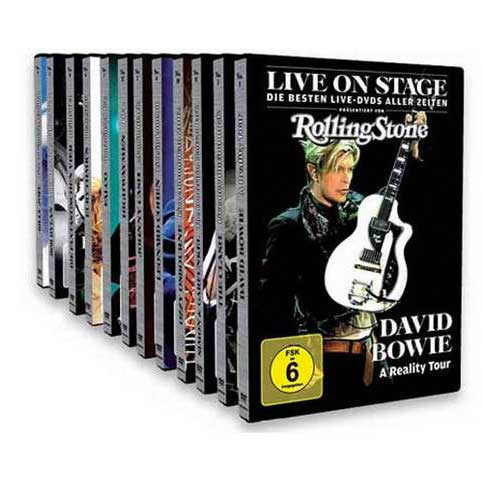Live On Stage DVD Edition